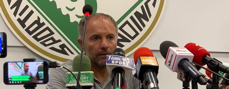 """Avellino-Bari, Cornacchini: """"Fatto poco ma c'era rigore anche per noi"""""""