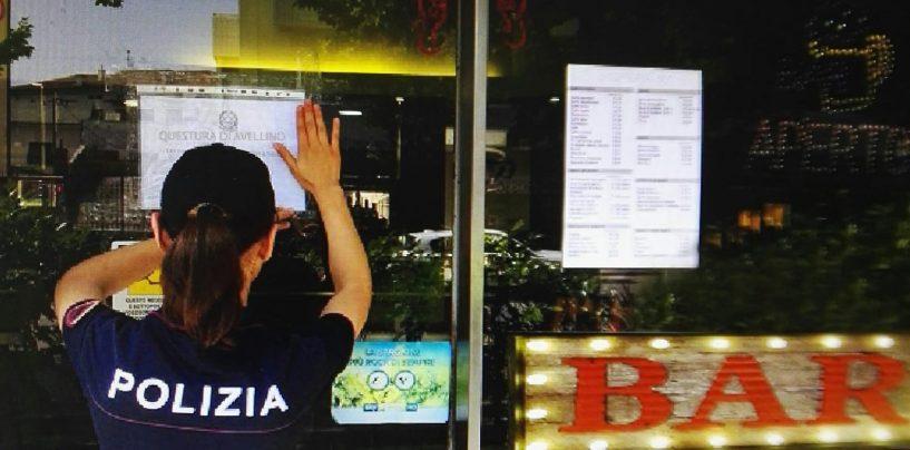Pub del capoluogo nel mirino della Polizia: disposta la chiusura per quattro giorni