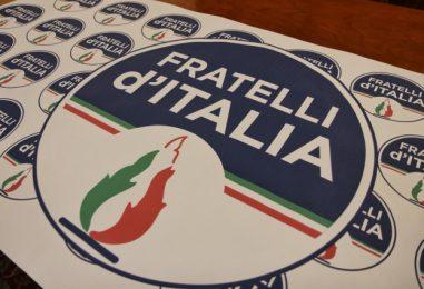 1 maggio: flash mob Fratelli d'Italia Provincia Avellino