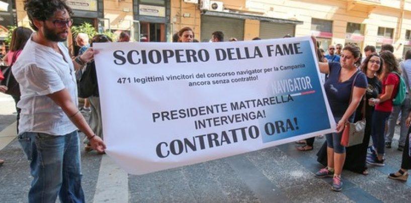 Sciopero della fame contro il governatore De Luca, s'infiamma la protesta dei navigator campani
