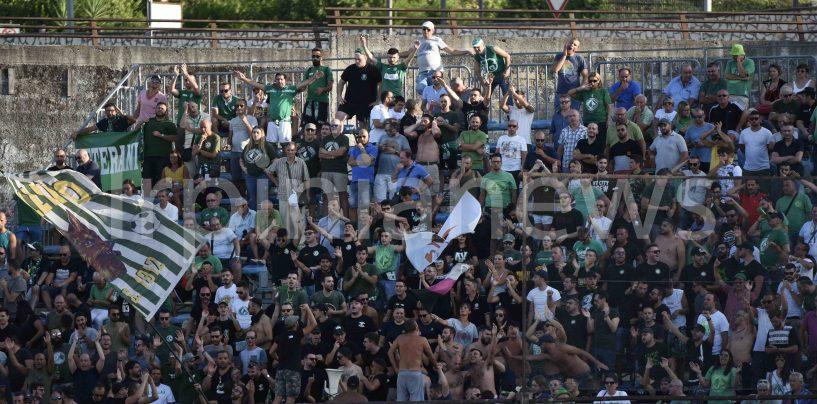 Cavese-Avellino, trasferta libera per i tifosi biancoverdi