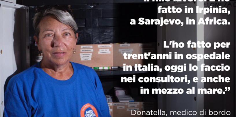 In Irpinia ai tempi del terremoto dell'80, oggi sulla Ong Mare Jonio: Albini a bordo per i migranti