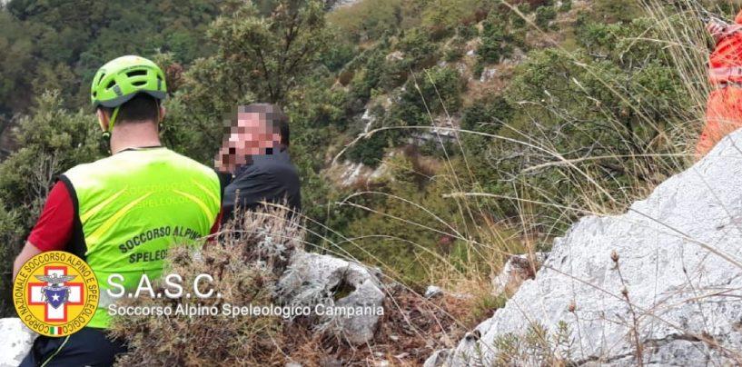 Disperso sui Monti Lattari, ritrovato e recuperato cercatore di funghi
