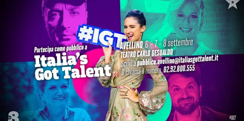 Conto alla rovescia per Italia's Got Talent al Teatro di Avellino: evento sold-out