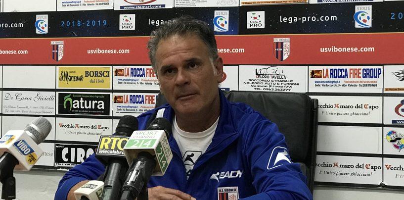"Vibonese-Avellino, Modica: ""Risultato bugiardo"""