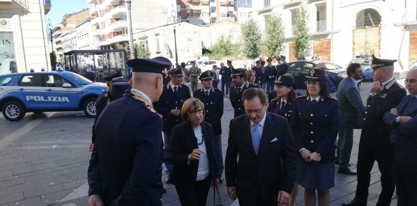 """FOTO / Il Prefetto elogia il lavoro delle Forze dell'ordine: """"Efficaci e professionali, la squadra Stato c'è"""""""