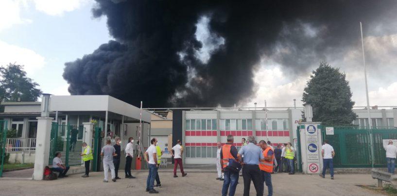 """Maxi incendio a Pianodardine, Irpiniambiente: """"Sospesa attività Stir. Sostegno ai caschi rossi"""""""