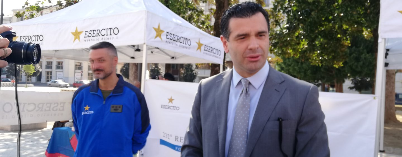 """""""Stiamo studiando inziative comuni da tenersi all'interno della Caserma"""". Esercito-Avellino, parla il sindaco"""