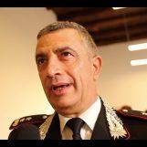 L'addio al maresciallo Apicella: l'ultimo saluto del generale Stefanizzi e di Calitri