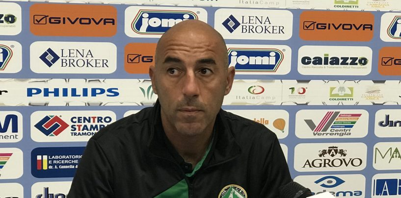 """Paganese-Avellino, Ignoffo: """"Normale essere in bilico, errori evitabili"""""""