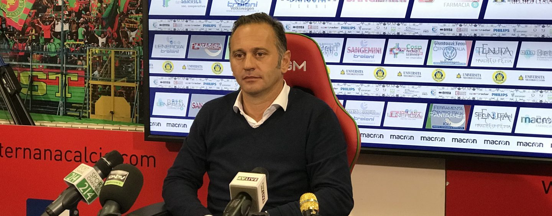 """Ternana-Avellino, Gallo: """"Abbiamo perso sull'unico tiro in porta"""""""