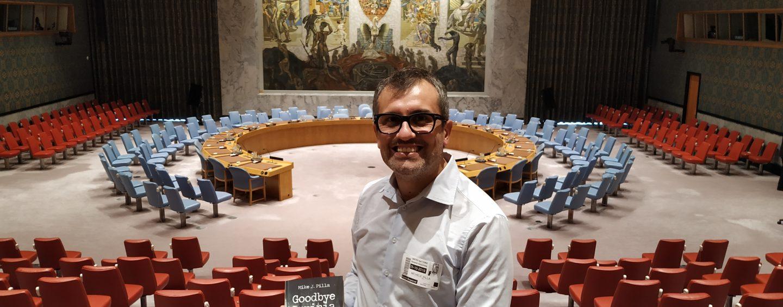 Campania e Irpinia all'ONU: Mike Pilla porta Montaguto al Palazzo di Vetro