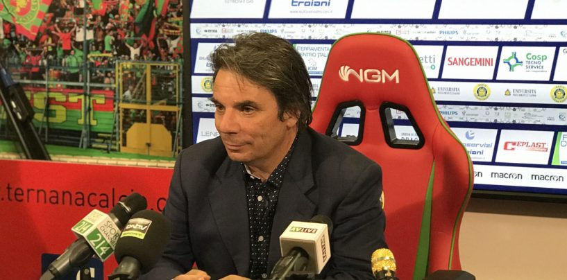 """Ternana-Avellino, Capuano: """"Gruppo fantastico, ora ricompattiamoci tutti"""""""