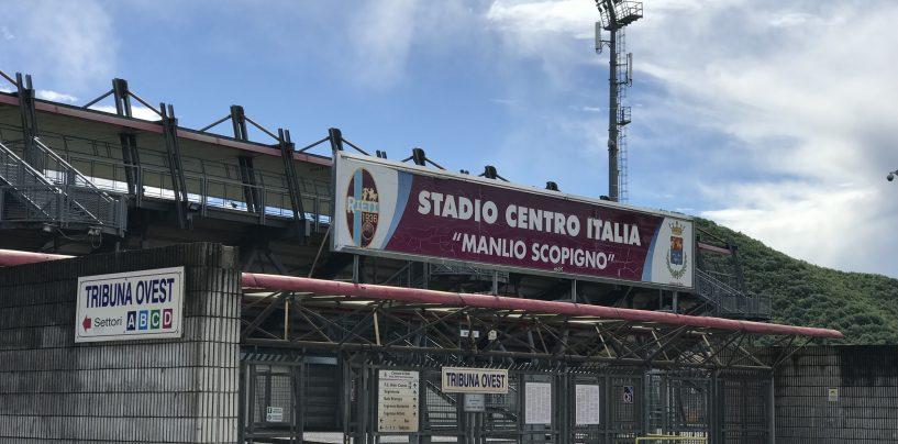 Caos nel girone C, penalizzazione in arrivo per il Rieti