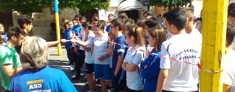 Sturno, gli studenti del Liceo Scientifico Sportivo protagonisti con l'Orienteering