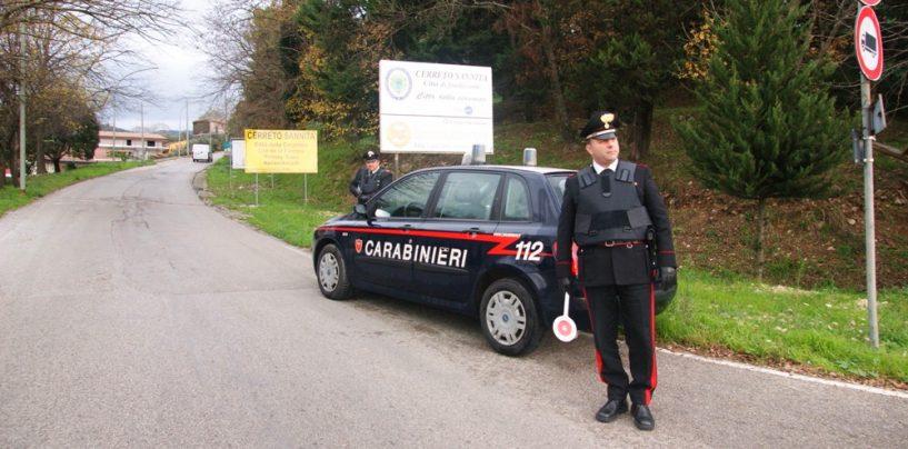 Benevento: controlli straordinari del territorio dei carabinieri in Valle Telesina