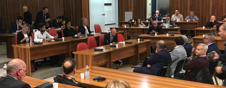 "Emergenza criminalità, cominciata la seduta ""allargata"" a Palazzo di Città"