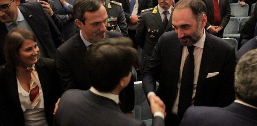 FOTOGALLERY/ Le foto della visita del Premier Conte ad Avellino