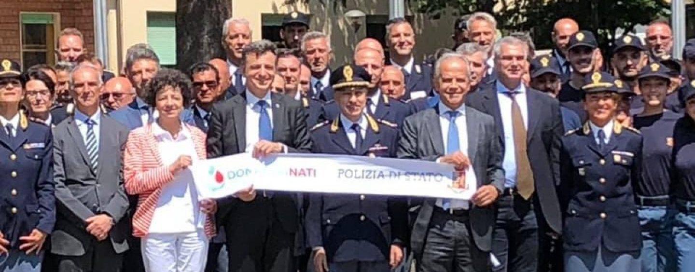 """Polizia di Stato, l'associazione """"Donatorinati"""" regala un ecografo per accessi venosi al """"Moscati"""" di Avellino"""
