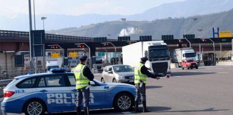 Candela, conflitto a fuoco sull'A16: ladri di escavatori nel mirino della polizia