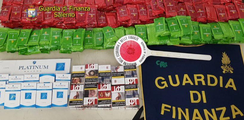 Dalla Tunisia con le sigarette nel furgone: scatta il sequestro al porto di Salerno