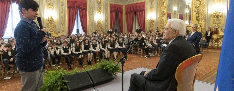 FOTO/ Studenti di Avellino da Mattarella: ecco chi ha incontrato il Presidente della Repubblica