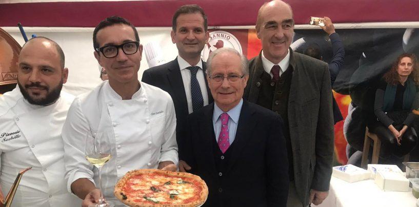 Merano wine festival: falanghina protagonista insieme alla pizza di Gino Sorbillo