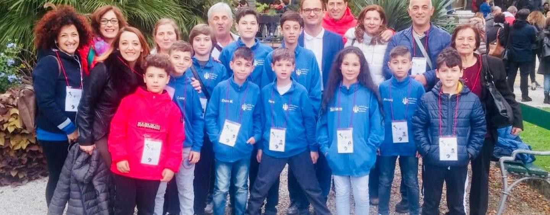 Scacchi, l'Irpinia si difende bene alla finale nazionale: vola la squadra under 10