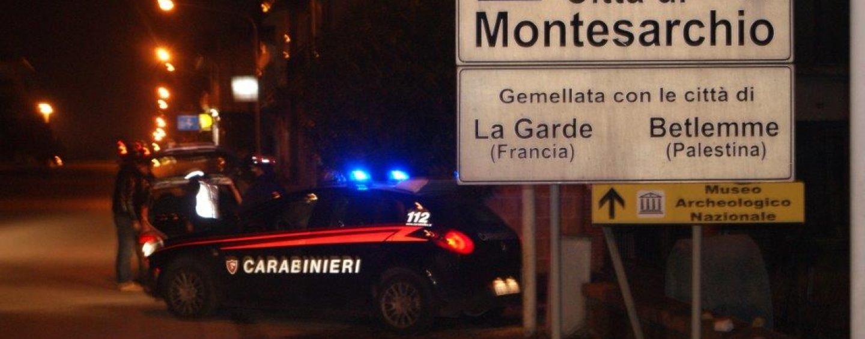 """""""Alto Impatto"""" a Montesarchio, in campo 6 equipaggi dei carabinieri"""