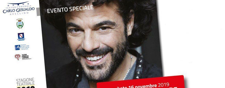 """Francesco Renga in concerto al teatro """"Carlo Gesualdo"""": caccia agli ultimi biglietti"""
