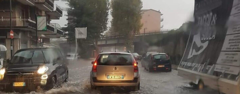 VIDEO / Pioggia e vento, situazione critica anche ad Atripalda