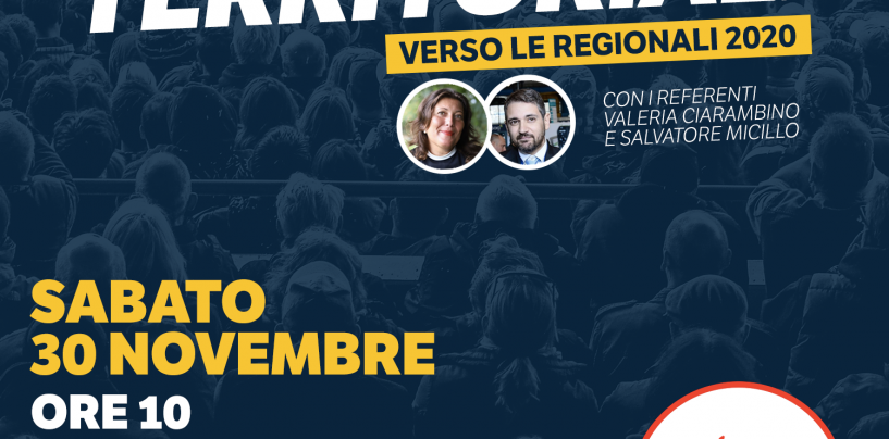 Verso le Regionali, Ciarambino e Micillo sabato mattina ad Avellino