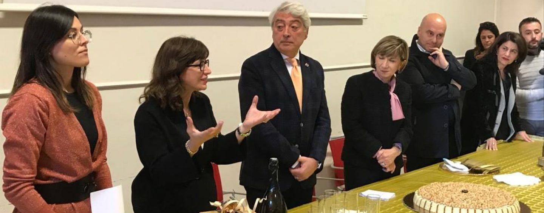 Musica e cassata avellana per il saluto della Provincia al Prefetto Maria Tirone