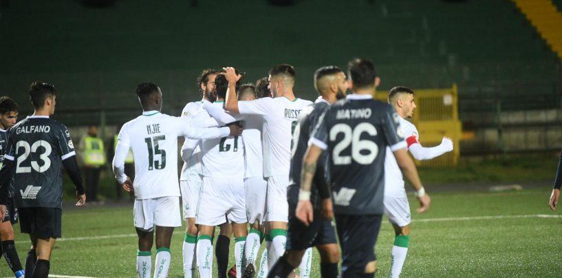 Coppa Italia Serie C, Avellino in contemporanea con la Scandone
