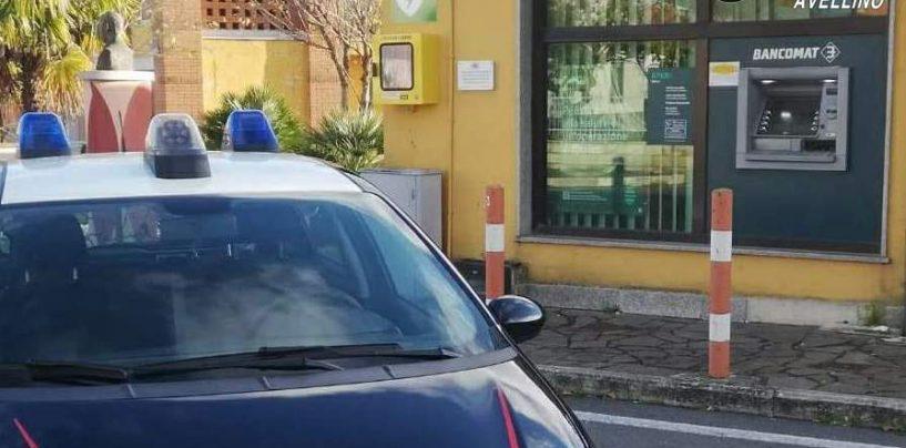 Conza, fallisce colpo con auto ariete alla Bper: indagini in corso