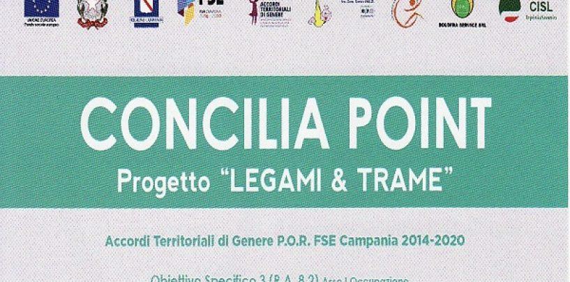 Concilia Point, lo sportello per le donne resta aperto a Montoro fino a luglio 2020