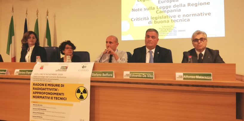 Avellino, gas Radon: il convegno del Cfs fa chiarezza su rischi e interventi da effettuare