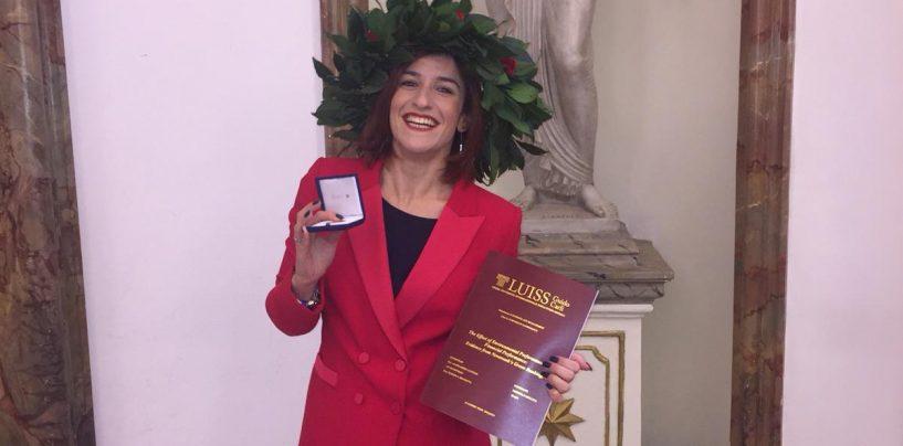 Rossella Mollica, laurea alla Luiss con 110 e lode