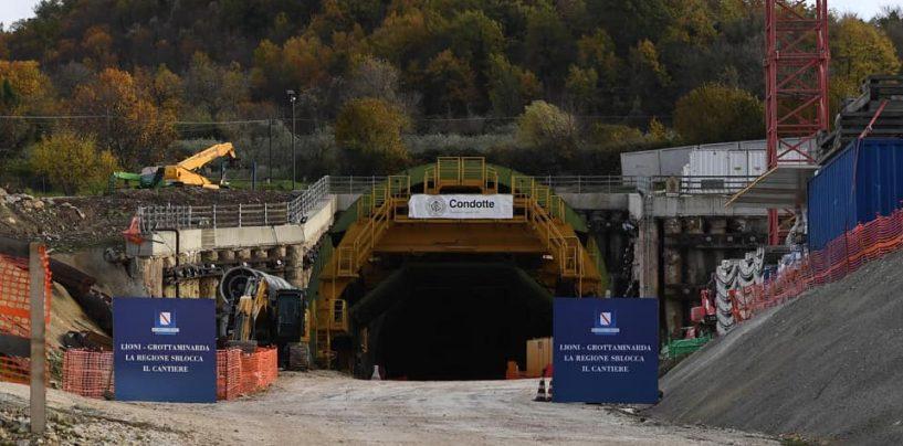""""""" Riaprono i cantieri della Lioni – Grotta """", domani alle 11.00 l'iniziativa presso il viadotto Schivito Macchie"""