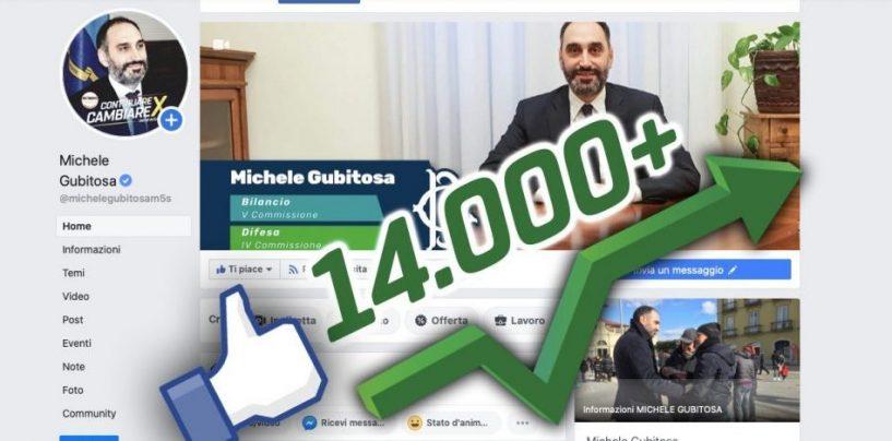 Politici e web: Gubitosa scala i social con milioni di visualizzazioni