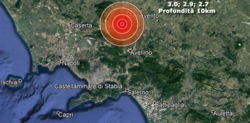 """Terremoto nel Sannio, anche l'Irpinia nella """"zona rossa"""": ecco i comuni"""