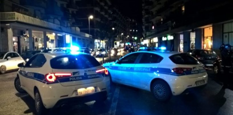 Controlli della Municipale in città: fermati ubriaco e parcheggiatore abusivo