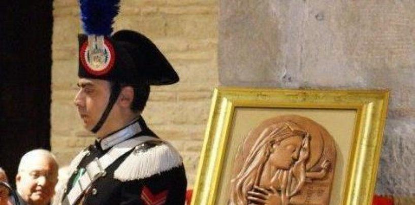 "I Carabinieri di Benevento celebrano la ""Virgo Fidelis"", Celeste Patrona dell'Arma"