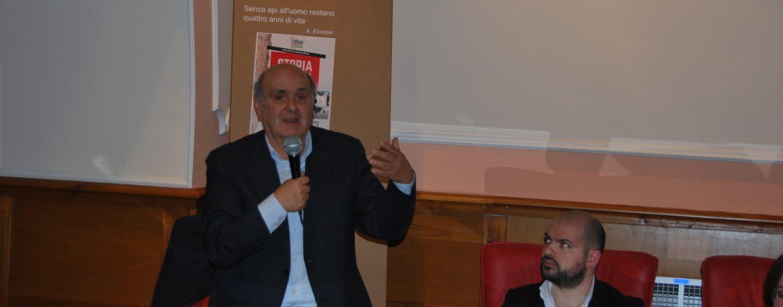 Isaia Sales ad Avellino con IDEA Irpinia per presentare il libro Storia dell'Italia Corrotta