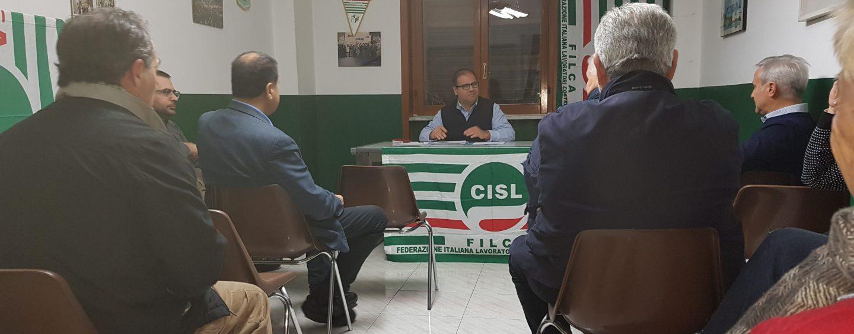 Filca Cisl Avellino, riunione del Direttivo alla presenza del Segretario Generale