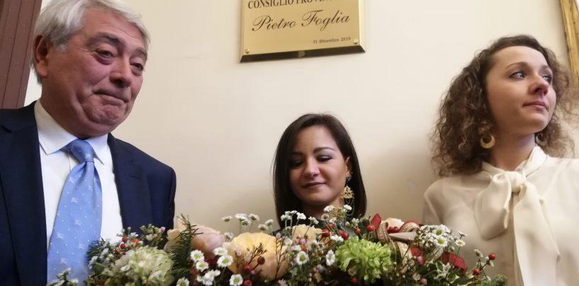"""Provincia, da oggi la sala consiliare si chiama """"Pietro Foglia"""". """"Era sempre al servizio dell'Irpinia e degli ultimi"""""""