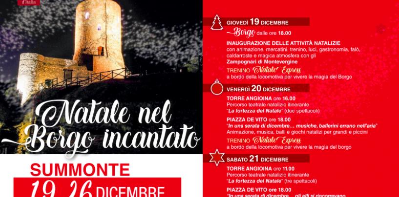 Tutto pronto a Summonte per il Natale nel borgo incantato più bello d'Italia