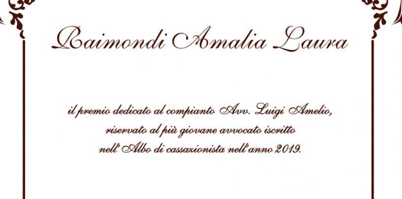 Premio in memoria del compianto avvocato Luigi Amelio, la cerimonia alConsiglio dell'Ordine