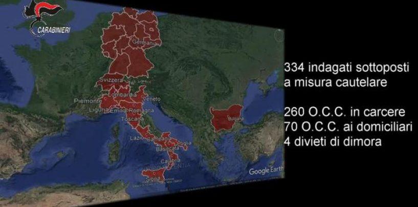 'Ndrangheta, 330 arresti in Calabria. Anche ex senatore di Fi Pittelli e il sindaco di Pizzo