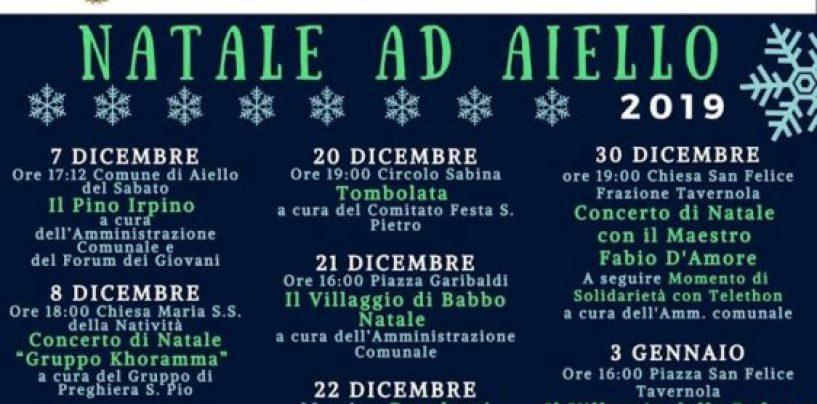 """Dalla """"Cicciolata"""" in piazza alla tombolata: un mese di eventi per il Natale ad Aiello"""
